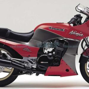 【マグロバイク】バイク乗りの憧れ、カワサキGPz900R(900Ninja)