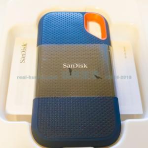 【持ち運びに便利】ポータブルSSDはSanDiskがおススメ