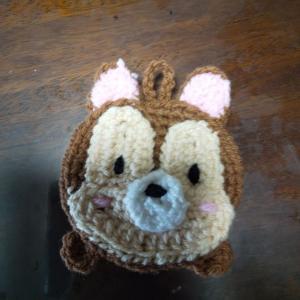 エコたわしを編みました