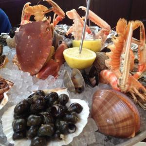 【フランス/アルカション】ボルドー近くの海の町!生牡蠣など新鮮な魚介プレートとピラ砂丘(欧州最大)からの最高の眺め!