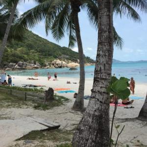 【サムイ島クリスタルビーチ】2020年3月初めは透明度もアップ?ビーチホテルに4泊して毎日シュノーケル