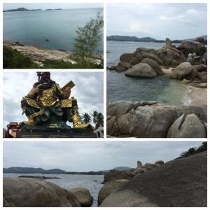 【タイ/サムイ島】ひ、卑猥?!ちょっと赤面のカップル岩、絶景パノラマポイント、関羽神社…観光スポット3つ!