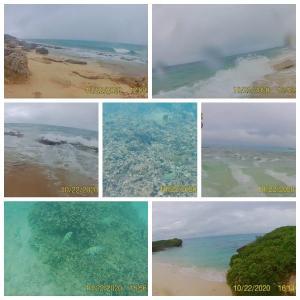 【宮古島/悪天候のリアル】雨の日の秘境ビーチ!長間浜(来間島)とフナクス(池間島)に泳ぎに行く