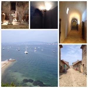 【南フランス/サント・マルグリット島】今も正体不明「鉄仮面の男」の独房に!17世紀の要塞と美しい自然