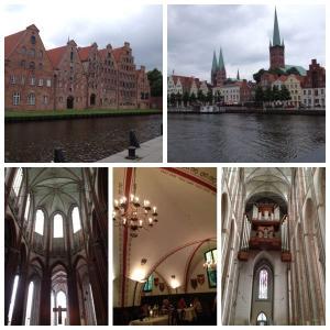 【ドイツ/リューベック-2】バッハも通った聖マリエン教会&市庁舎の地下レストランでの昼食!