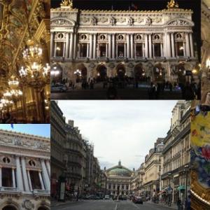 【パリ/オペラ座ガルニエ宮でバレエを!】豪華絢爛、世界一!天井はシャガール、19世紀のパリ大改造のシンボル