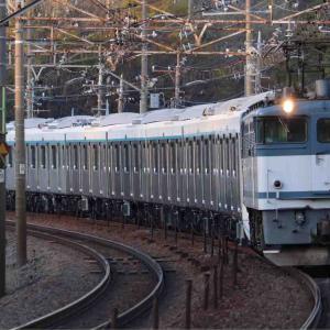 東急3020系3121F甲種回送を撮影