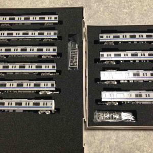 グリーンマックス 西武6000系アルミ車6156編成機器更新車入線‼︎
