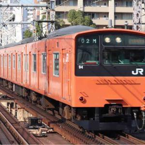 大阪環状線の201系