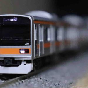 TOMIX 209-1000系中央線入線‼︎
