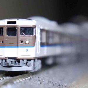 TOMIX 115系2000番台40N更新車・アイボリー入線‼︎