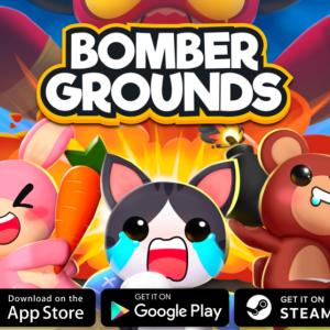 超かわいいどうぶつたちが私の周りにぽちぽち爆弾をおいていくの。レトロボンバーインスパイア系『Bomberground:Battle Royale (ボンバーグラウンド・バトルロワイアル)』