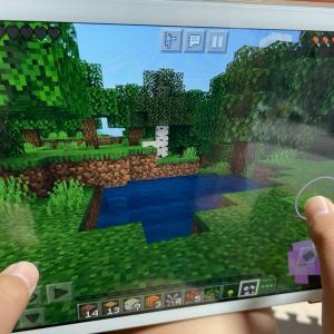 マインクラフト(iPad版)を導入してみた