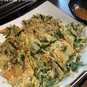 適当に作ってもなんとかなる、野菜のチヂミ。