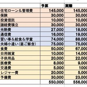 11月の家計簿♪