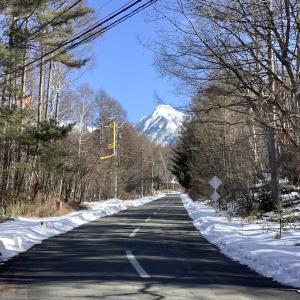 久々の八ケ岳ブルーの週末Ⅱ 青空を愛でる。