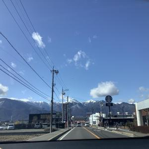 久々の八ケ岳ブルーの週末Ⅲ 安曇野