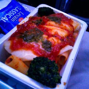 ニュージーランド航空の機内食!美味しさアップのエコノミークラス