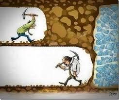 成功するひとつの方法は辞めないこと...