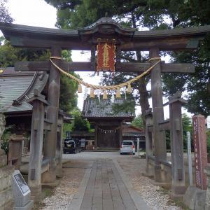 彫刻【金鑚神社】埼玉県本庄市千代田