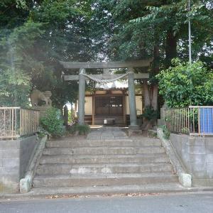 彫刻【八幡神社】彫刻よりも狛犬さんが印象に残る(笑) 千葉県我孫子市湖北台