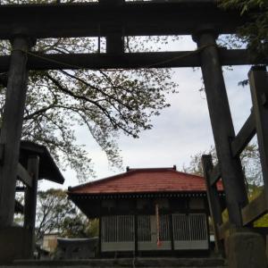 【粟嶋神社】金属製の小野道風の絵馬。千葉県白井市名内