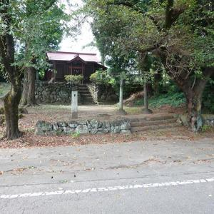 【氣佐石神社】妙義山の麓にある小さな神社。群馬県安中市松井田町