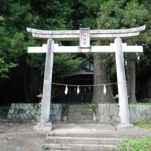 【諏訪神社】群馬県安中市松井田町入山