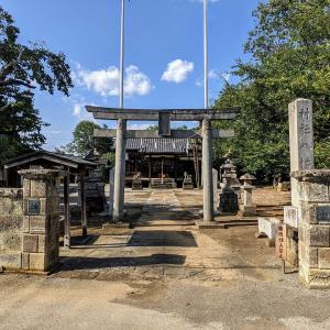 ▲彫刻【八幡宮】彫刻は全く見えません:栃木県栃木市藤岡町