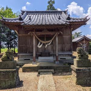 彫刻【八龍神社】力神と風神雷神:栃木県栃木市大平町