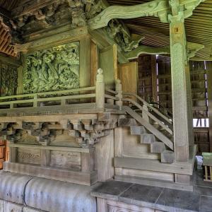 彫刻【塩山神社】栃木県鹿沼市