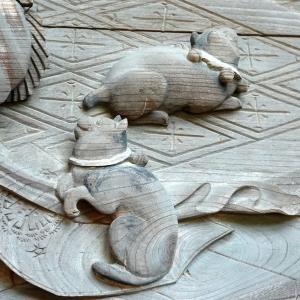 彫刻【貴渡神社】石川雲蝶の素晴らしい彫刻:新潟県長岡市栃堀