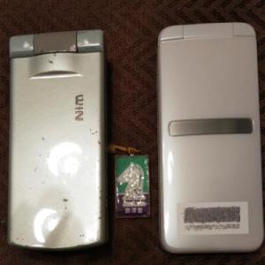携帯電話の機種変更