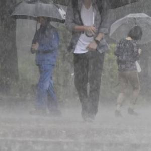 大雨を警戒すべし県西部