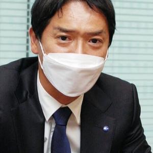 山中氏何を語った新市長?!