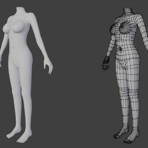 【Blender】Blender 2.8でキャラクターモデリング その1