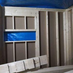 2階の床も完成!10月25日の巻