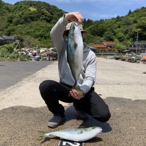 【釣果報告】沖磯に渡ってショアジギングしてきた。【春の青物】