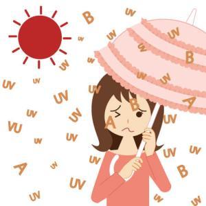 真夏のUVケア。紫外線がシワ・シミ・たるみをつくる。紫外線のことを知って賢く美白しましょう。