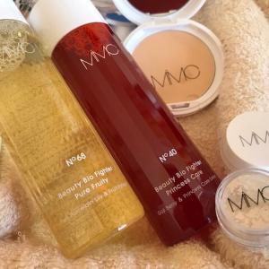 ミネラルを使ったMIMCの化粧品。お肌に優しい化粧水とファンデーションがお気に入り。