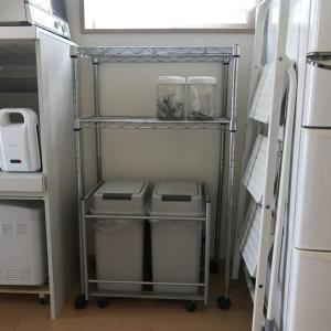 目指せ脱ゴミ箱難民!大きなゴミ箱の購入で台所をすっきりさせたい