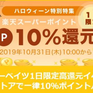 【楽天リーベイツ】1日限定10%還元♡一休レストラン・iHerb・H&M・マイプロテイン・エアアジアジャパン・グルーポンなどポイントアップ!11月1日9:59まで