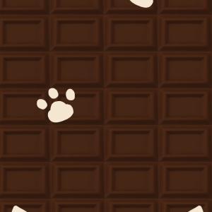 【スマホ用壁紙】ミルクチョコ