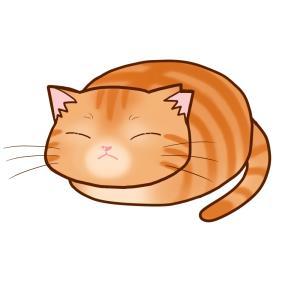 まんじゅうさくら猫 全身B(茶トラ)