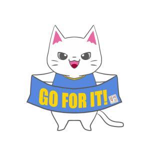 【ジュビロカラー風】ユニフォーム応援猫