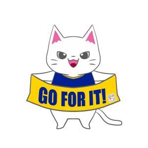 【トリニータカラー風】ユニフォーム応援猫