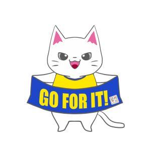 【ベガルタカラー風】ユニフォーム応援猫