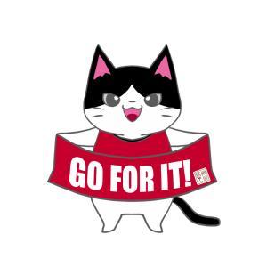 【レッズカラー風】ユニフォーム応援猫