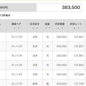 6/7ポン円【手口公開ロング+38万/1日】