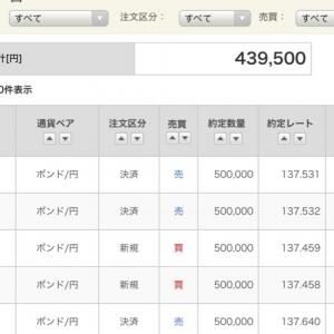 今年初!6/5ポン円【手口公開ロング+43万/1日】